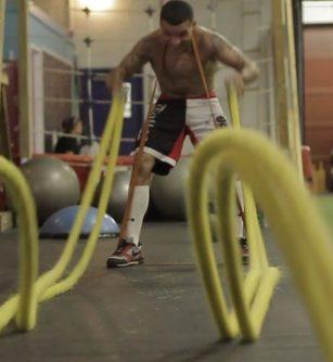 MMA training Workout