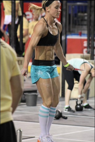 Angie Pye crossfit abs