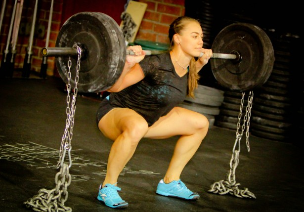 Katie Hogan crossfit squat