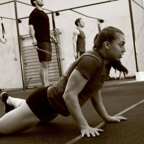 Katie Hogan Burpee crossfit girls