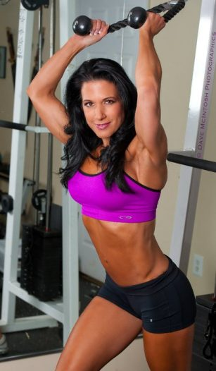 Janet Lynn West triceps girl