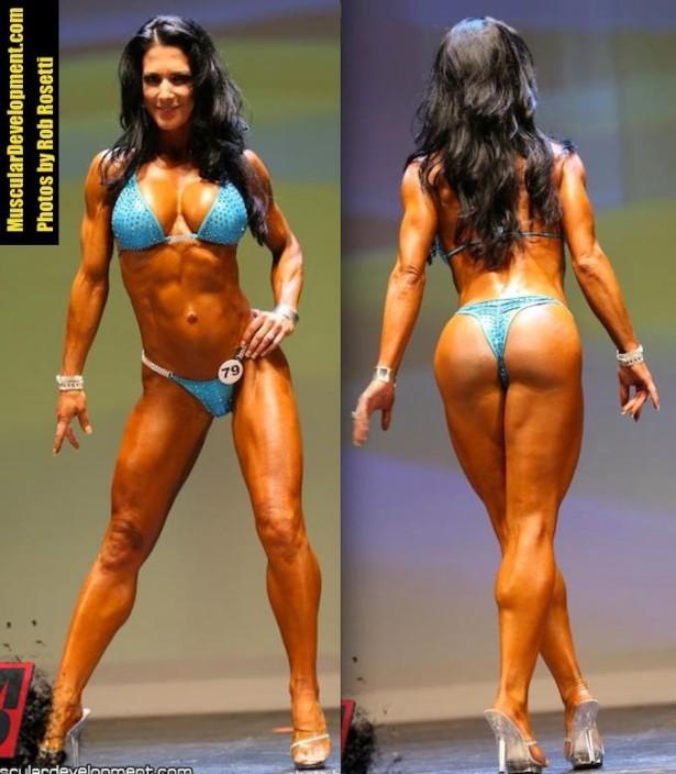 Janet Lynn West fitness butt