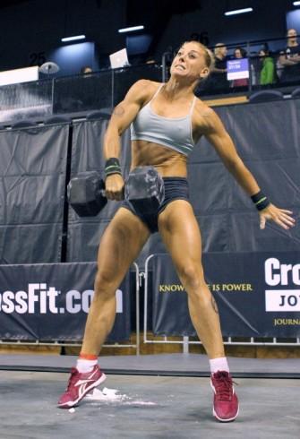 badass crossfit girl