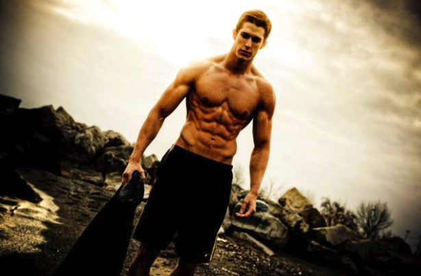 MaTT Ferro Abs fitness model
