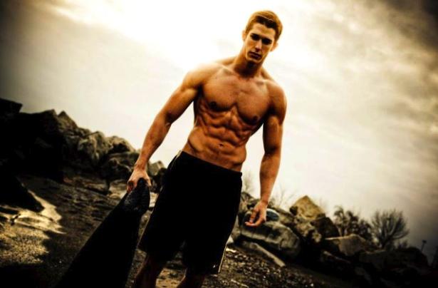 MaTT Ferro Abs fitness model