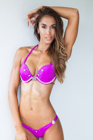 Fitness Model Chontel Hau