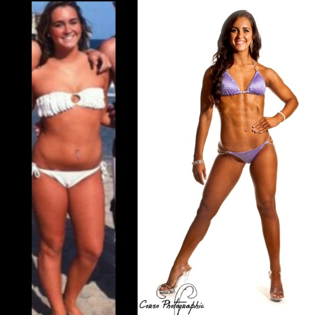 Fitness transformation Jen Mezzetti