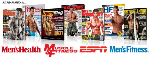 Cover model workout
