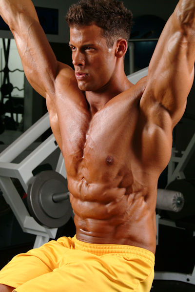 Cover Model Justin Woltering Talks With TheAthleticBuild.com