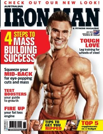 Matt Christianer Ironman Cover
