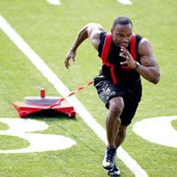 Sled speed training