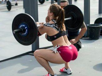 Squat girl