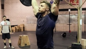 Bodybuilder does crossfit