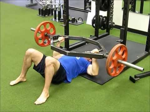 Trap Bar floor press