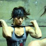 Miranda Oldroyd and Dana Linn Bailey Do CrossFit WOD – 3 Bars of Death (Linda)