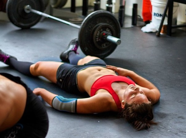Crossfit tired