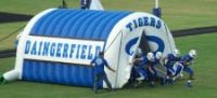 best football tunnels
