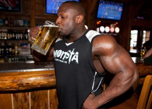 muscle growth and alcohol