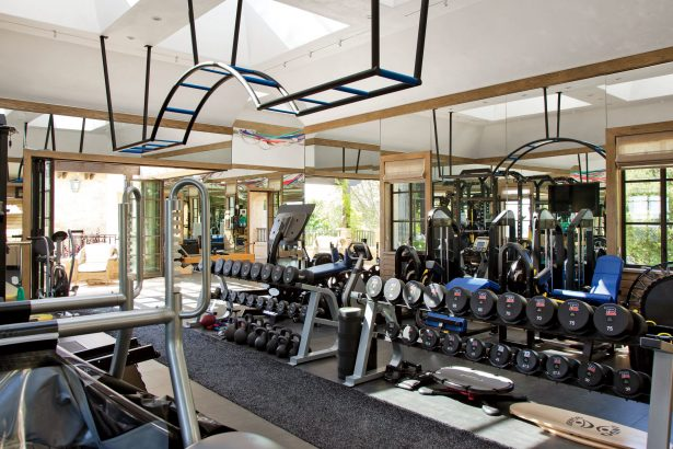 Tom Brady Home Gym