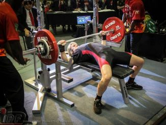 jen thompson bench press