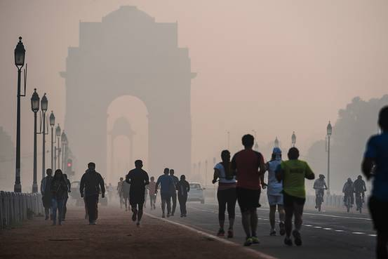 smog and exercise