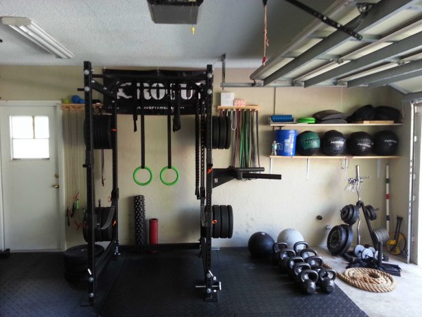 garage gym badass