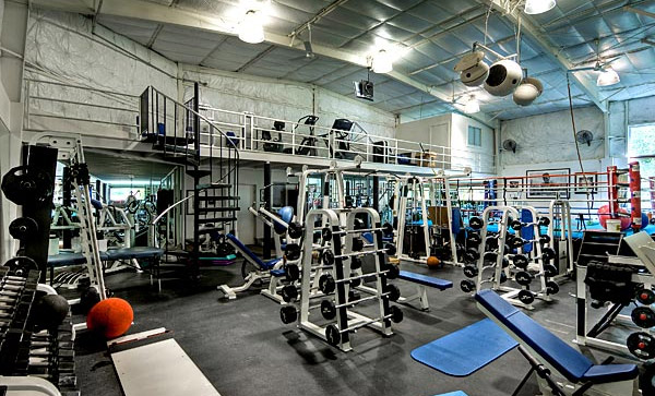 Mark Wahlberg's home gym