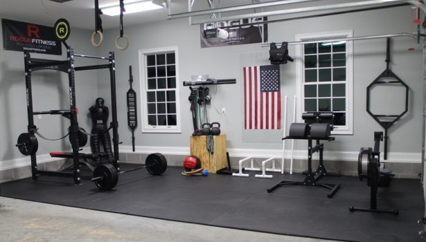 Awesome garage gym