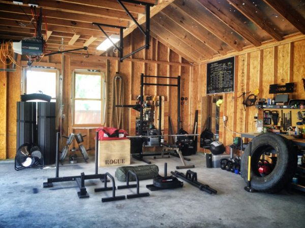 Crossfit Garage Timber Outhouse Setup E on At Home Strength Training Workouts For Women
