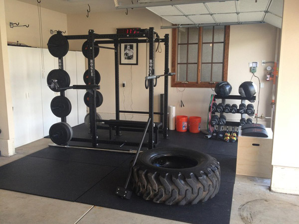 cool garage gym