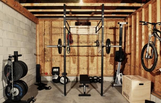 cool garage gym