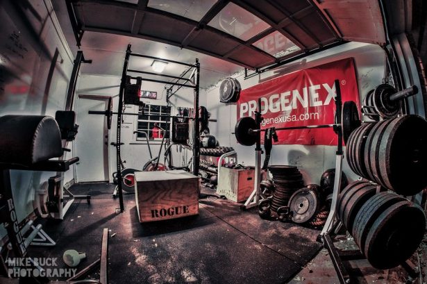 Garage gym awesome