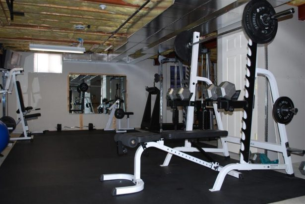 home gym garage gym