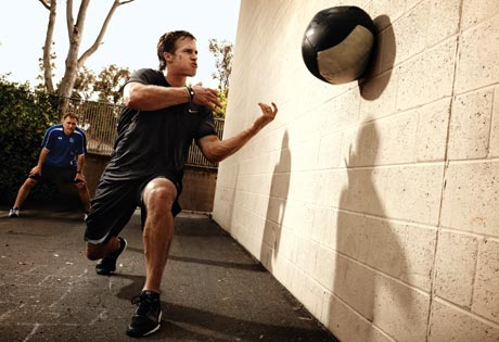 Med Ball Throw