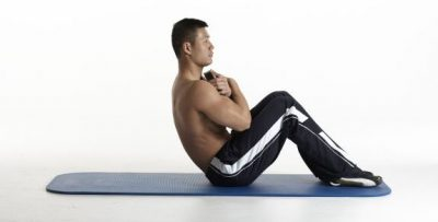 Weighted sit up