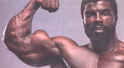 Big biceps flex