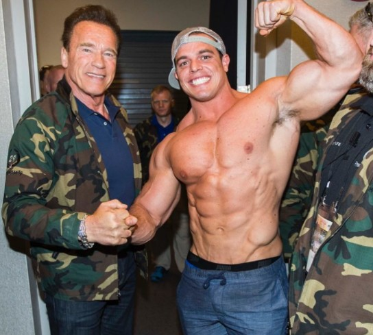 Brad Castleberry with Arnold