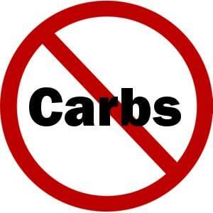 Avoid carbs