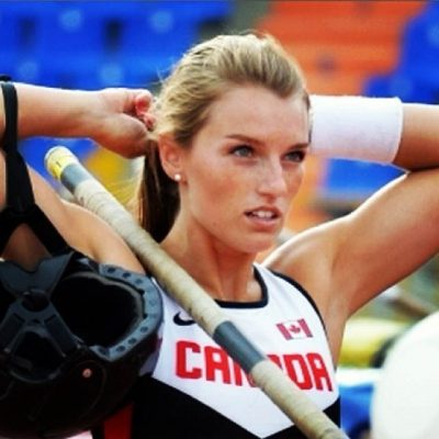 Hot track athlete