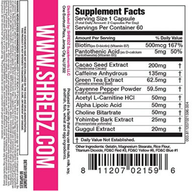 Shredz Label