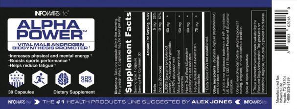 Alpha Power Label
