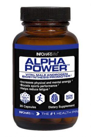 Alpha Power Bottle