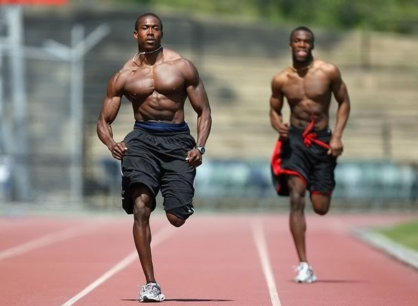 Why are sprinters so muscular