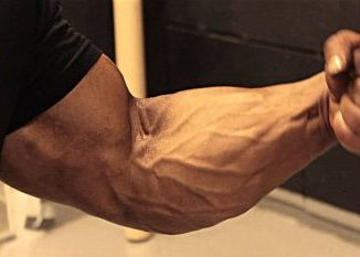 massive forearms