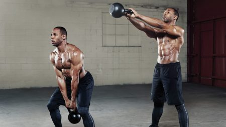Kettlebell swing guy