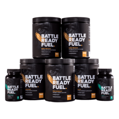 Muscle building stack battle ready fuel