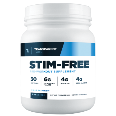 Stim Free pre workout