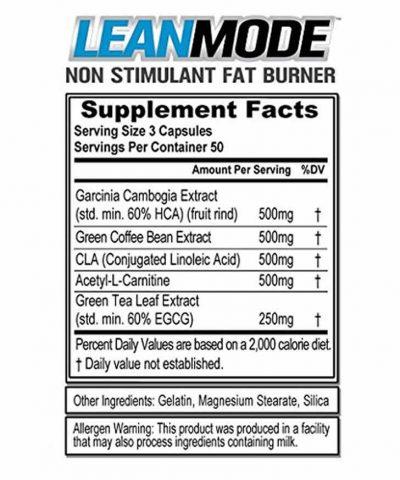 Leanmode Ingredients