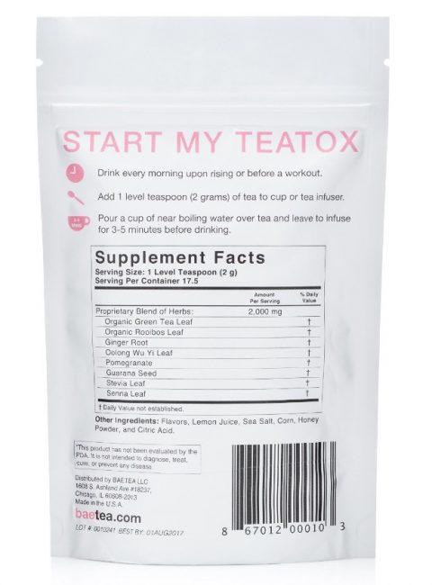 baetea ingredients