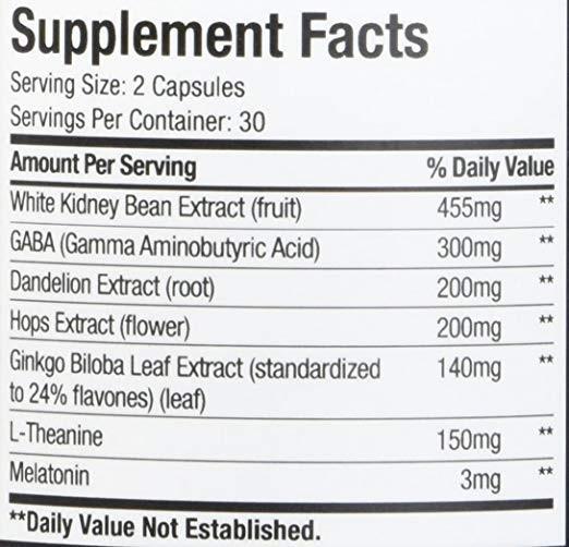 Sheer Shred Ingredients
